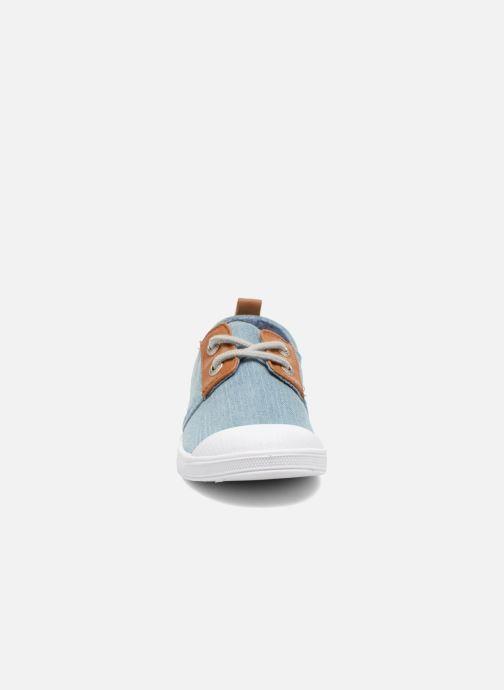Sneakers Le temps des cerises Lc Basic 02 Azzurro modello indossato