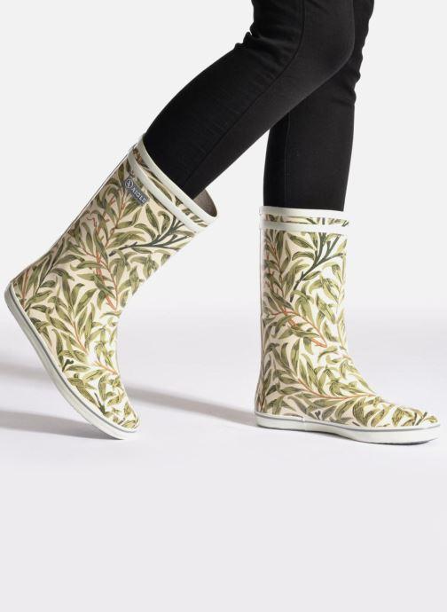 Stiefeletten & Boots Aigle Malouine Print beige ansicht von unten / tasche getragen