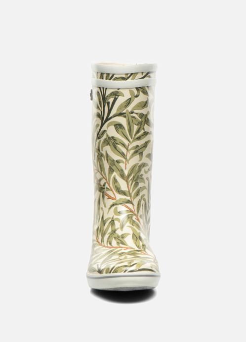 Stiefeletten & Boots Aigle Malouine Print beige schuhe getragen