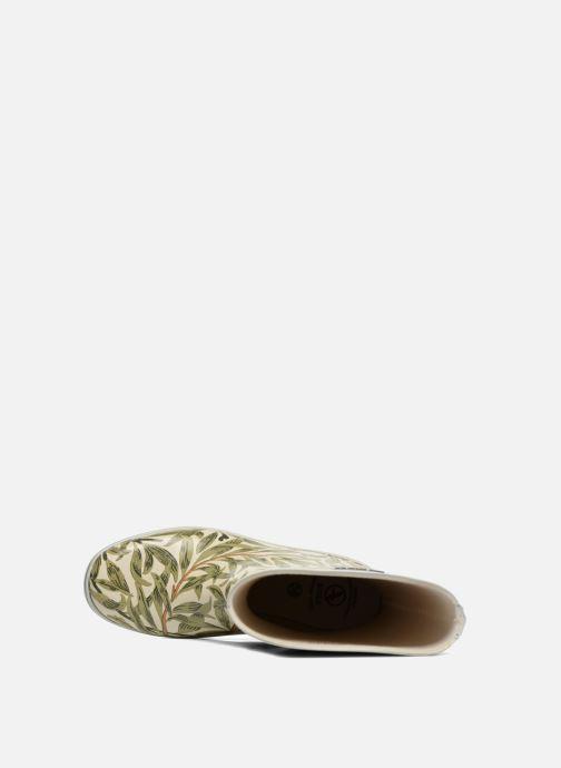 Stiefeletten & Boots Aigle Malouine Print beige ansicht von links