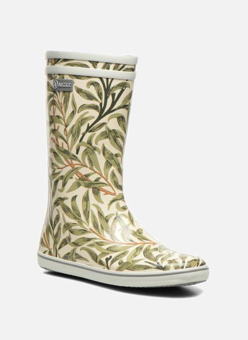 Stiefeletten & Boots Aigle Malouine Print beige detaillierte ansicht/modell