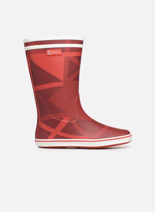 Bottines et boots Aigle Malouine Print Rouge vue derrière