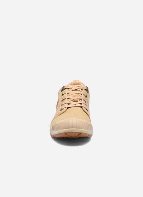 Sneaker Aigle Tenere Light Low Cvs beige schuhe getragen