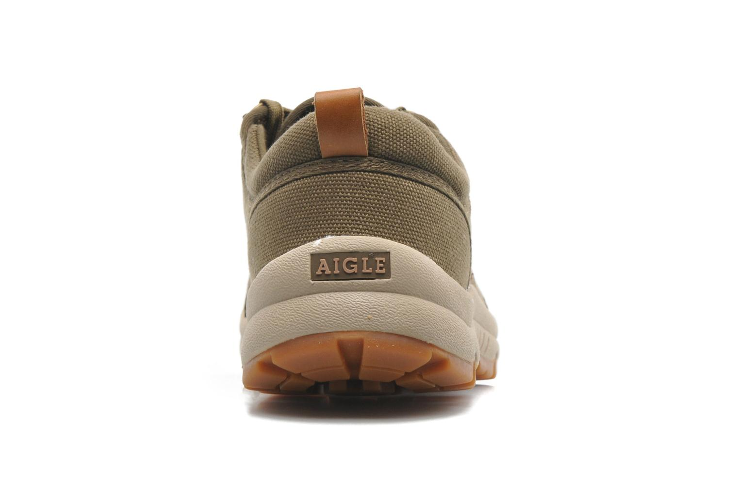 Deportivas Aigle Tenere Light Low Cvs Verde vista lateral derecha