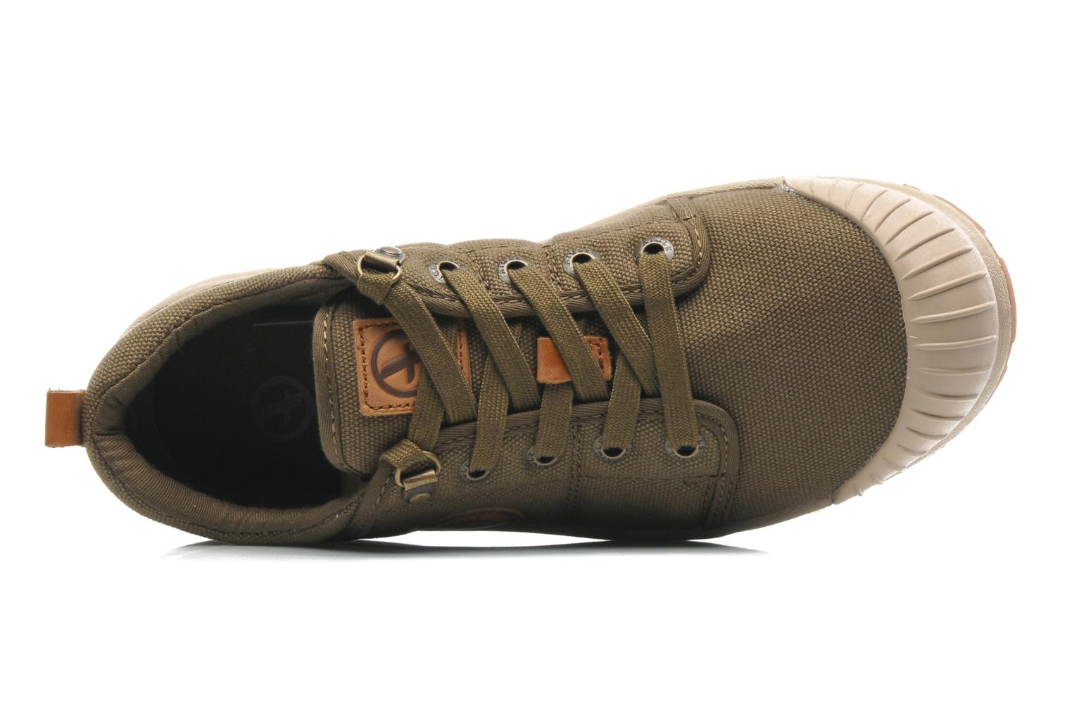 Trainers Aigle Tenere Light Low Cvs Green view from the left
