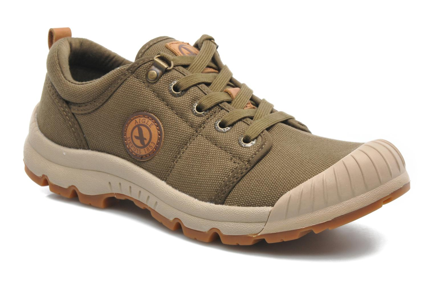 Trainers Aigle Tenere Light Low Cvs Green detailed view/ Pair view
