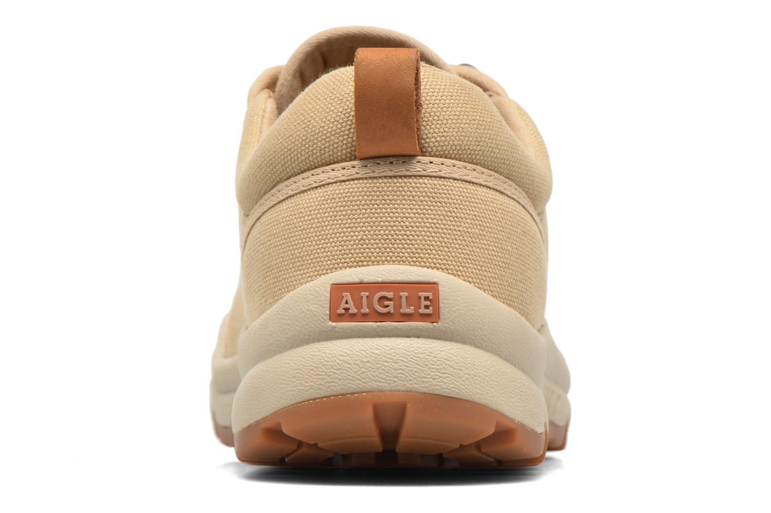 Baskets Aigle Tenere Light Low Cvs Beige vue droite