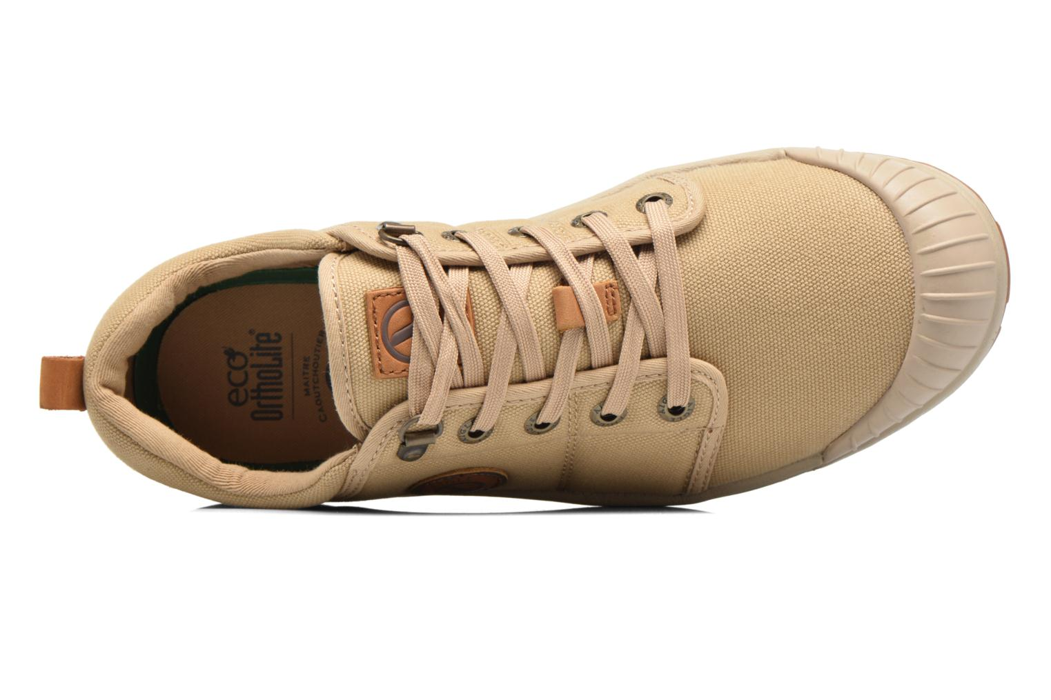 Baskets Aigle Tenere Light Low Cvs Beige vue gauche