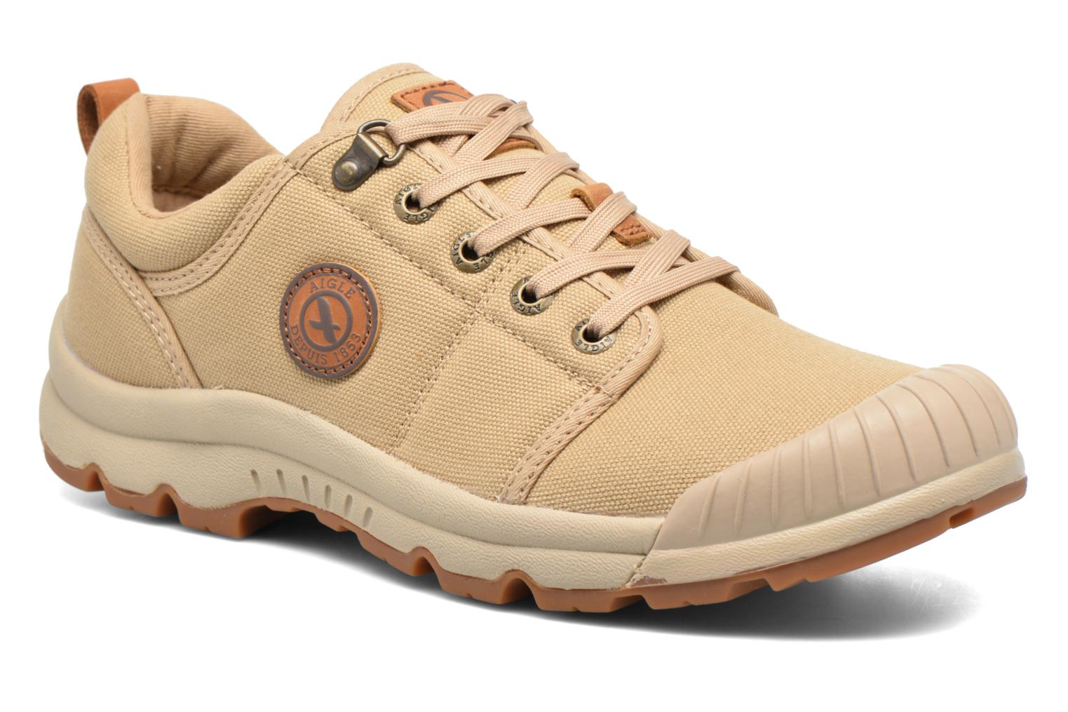 Baskets Aigle Tenere Light Low Cvs Beige vue détail/paire