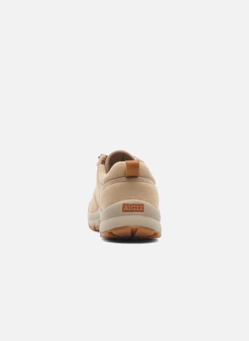 Deportivas Aigle Tenere Light Low W Cvs Beige vista lateral derecha