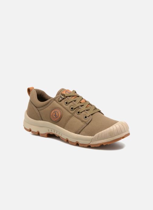 Baskets Aigle Tenere Light Low W Cvs Vert vue détail/paire