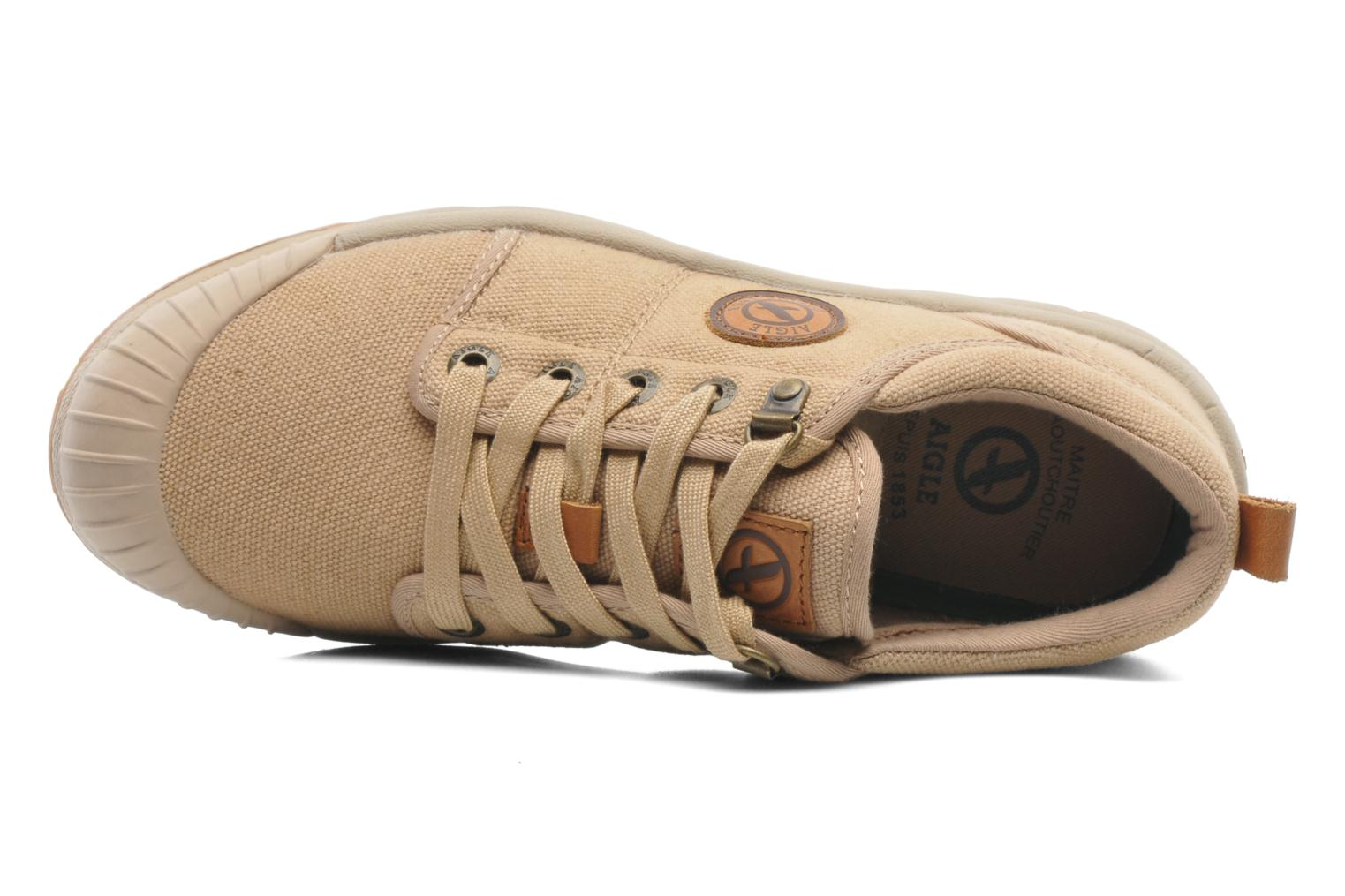 Trainers Aigle Tenere Light Low W Cvs Beige view from the left