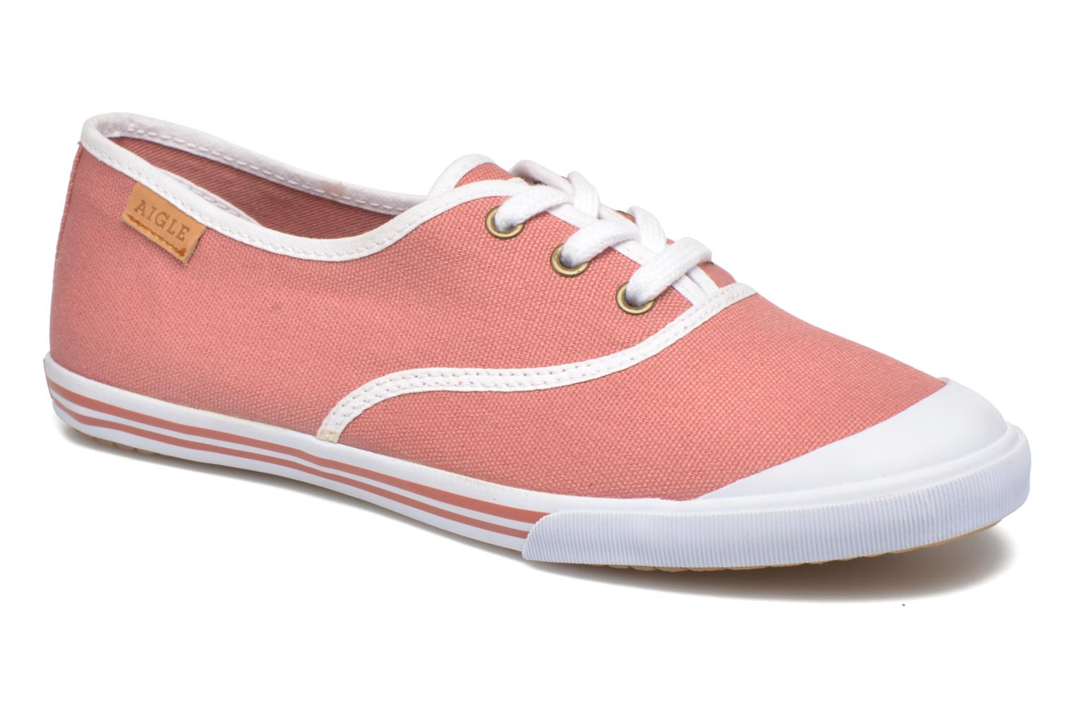 Trainers Aigle Lauriel Pink detailed view/ Pair view
