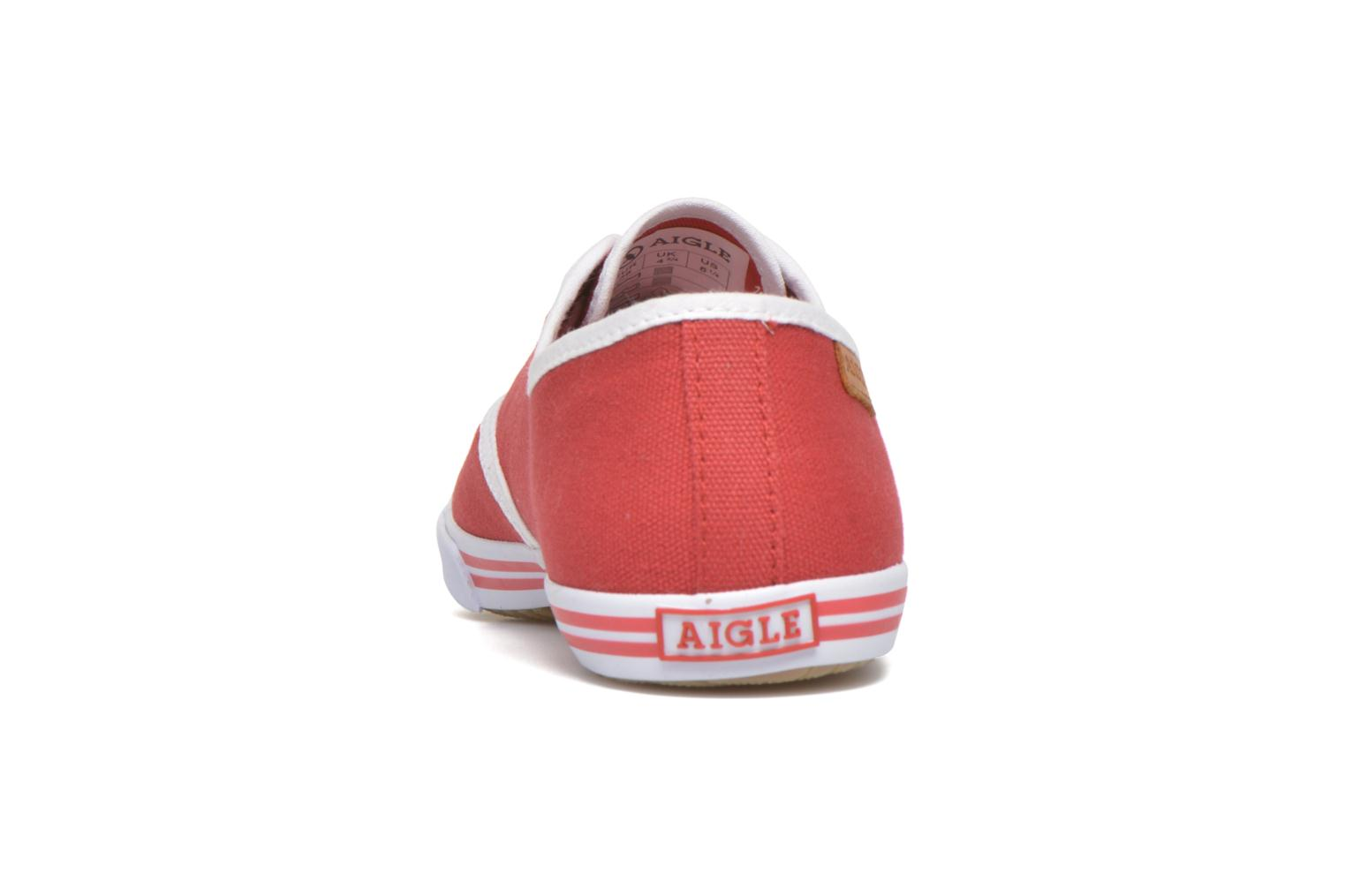 Trainers Aigle Lauriel Red view from the right