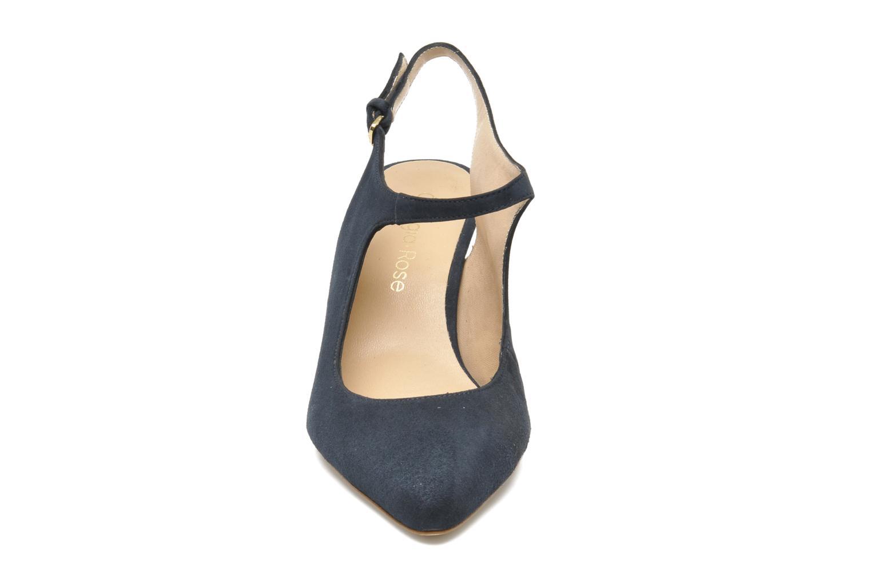 Escarpins Georgia Rose Amalsa Bleu vue portées chaussures