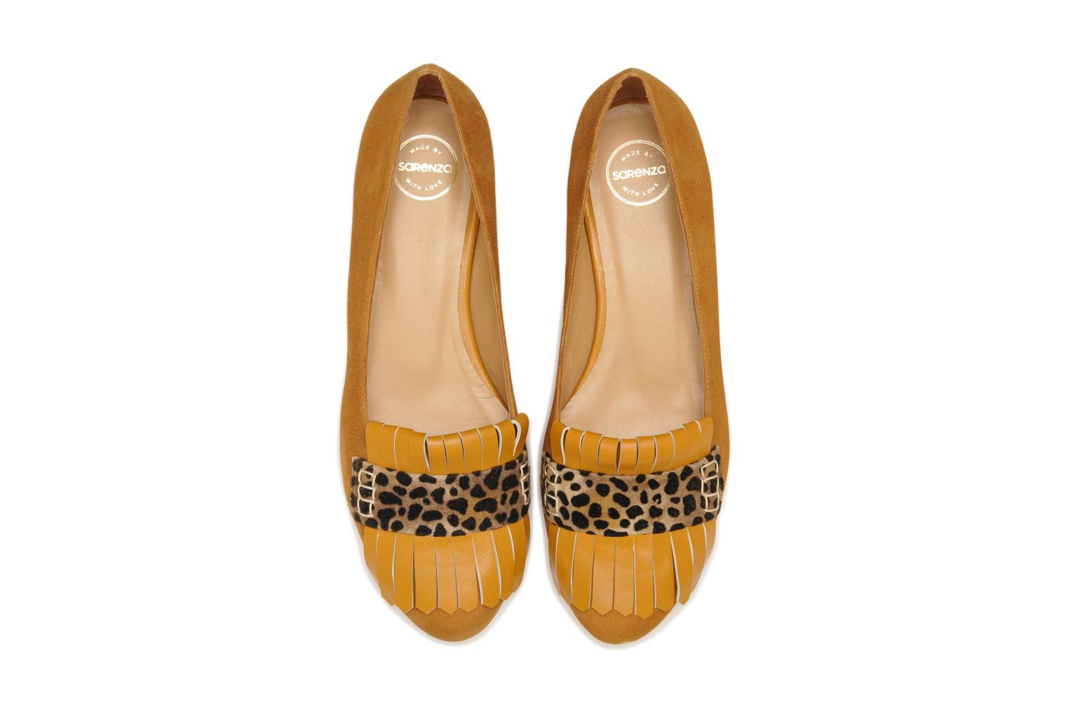 Ballet pumps Made by SARENZA Cape Town #2 Brown model view