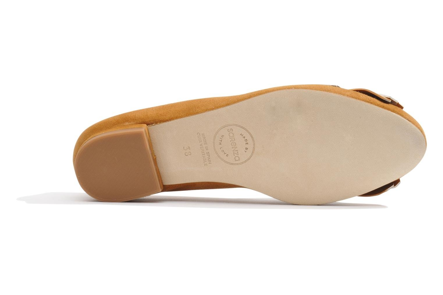Ballet pumps Made by SARENZA Cape Town #2 Brown view from the left