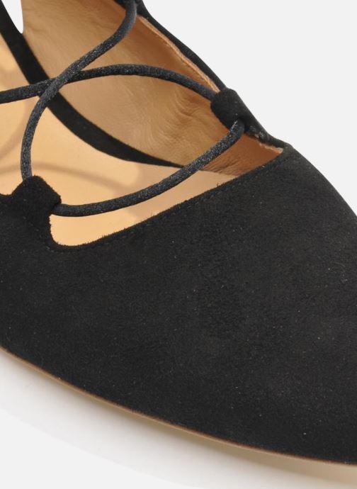 Ballerinas Made by SARENZA Seven Tease #3 schwarz ansicht von oben