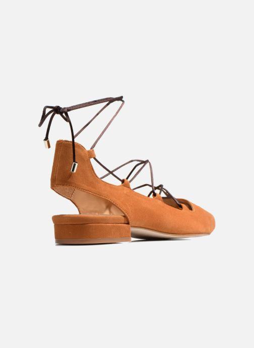 Ballerinas Made by SARENZA Seven Tease #3 braun ansicht von vorne