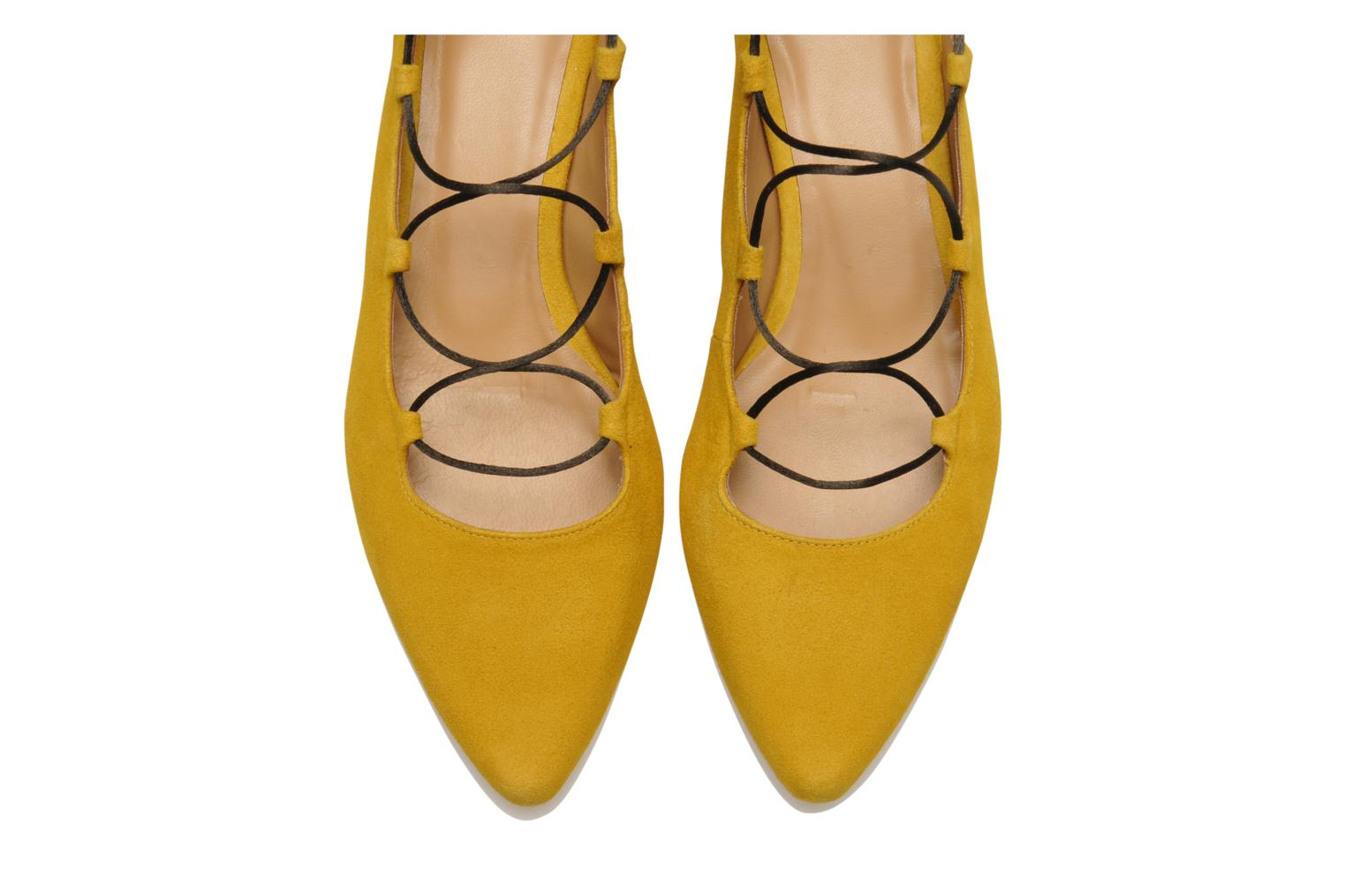 Ballet pumps Made by SARENZA Seven Tease #3 Yellow model view