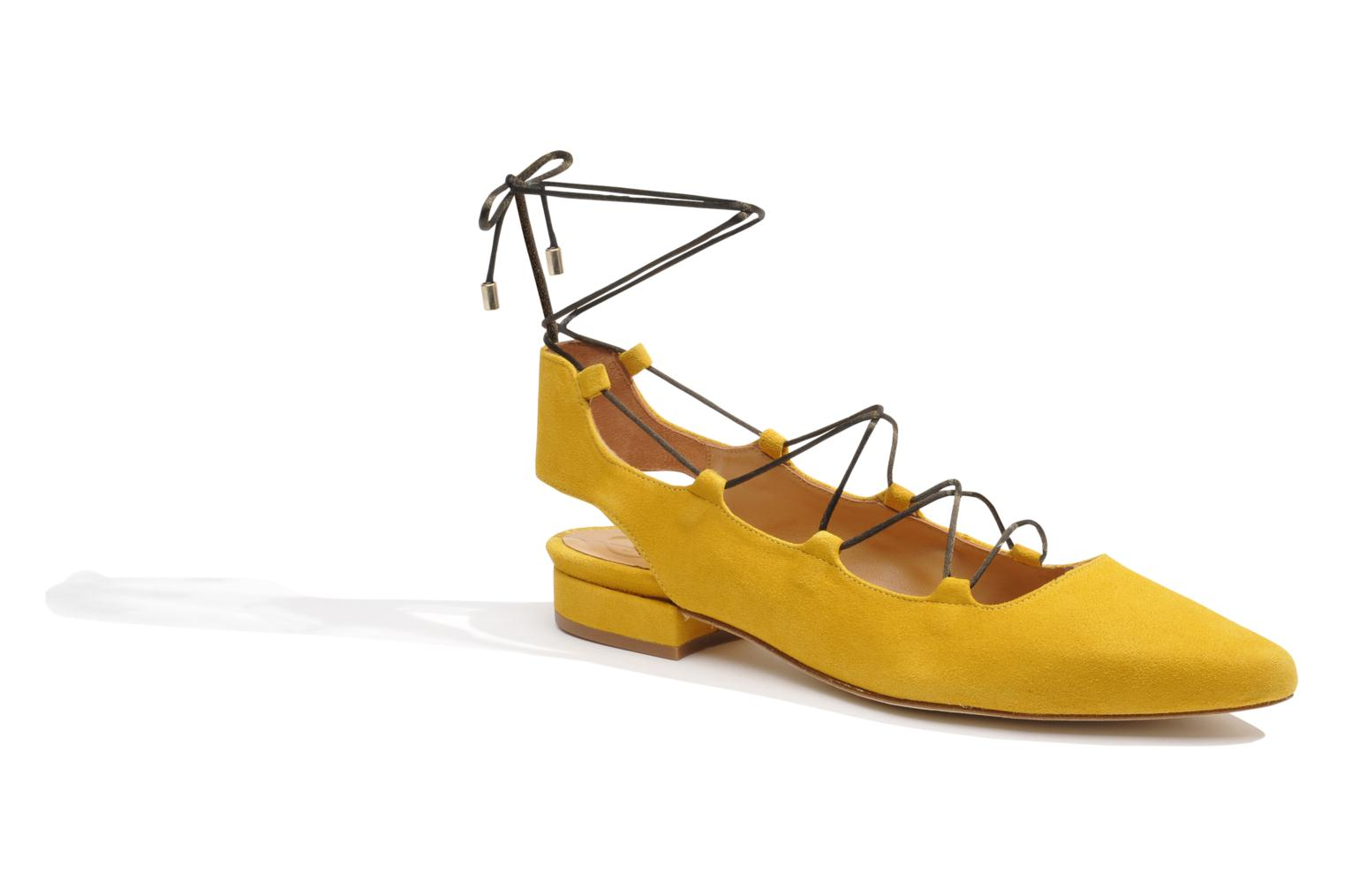 Ballet pumps Made by SARENZA Seven Tease #3 Yellow view from the right