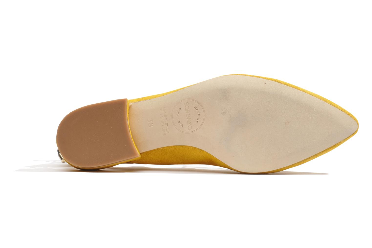 Ballet pumps Made by SARENZA Seven Tease #3 Yellow view from the left
