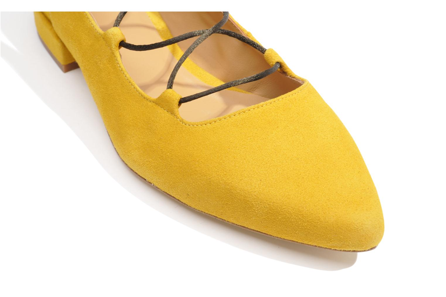 Ballet pumps Made by SARENZA Seven Tease #3 Yellow view from above