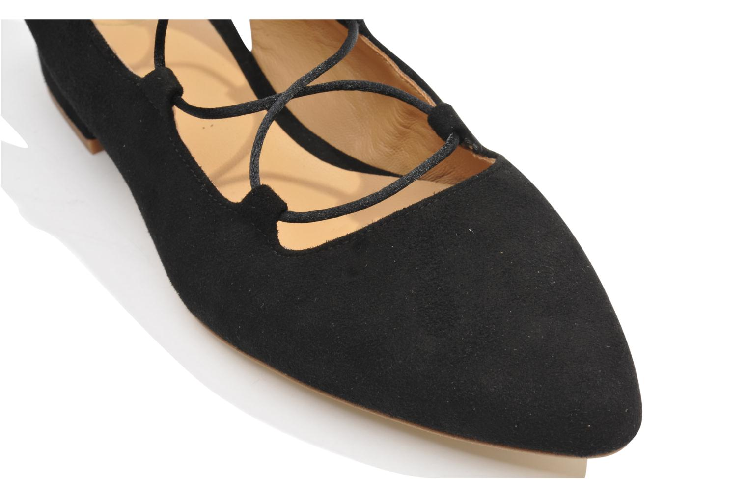 Ballet pumps Made by SARENZA Seven Tease #3 Black view from above