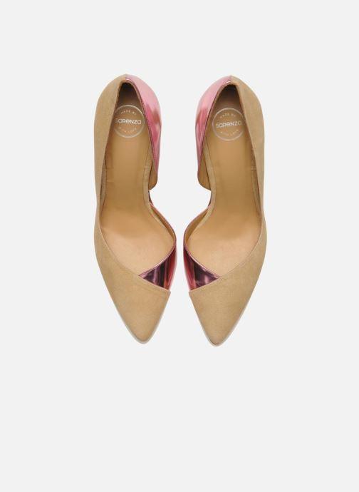 Escarpins Made by SARENZA Roudoudou #6 Rose vue portées chaussures