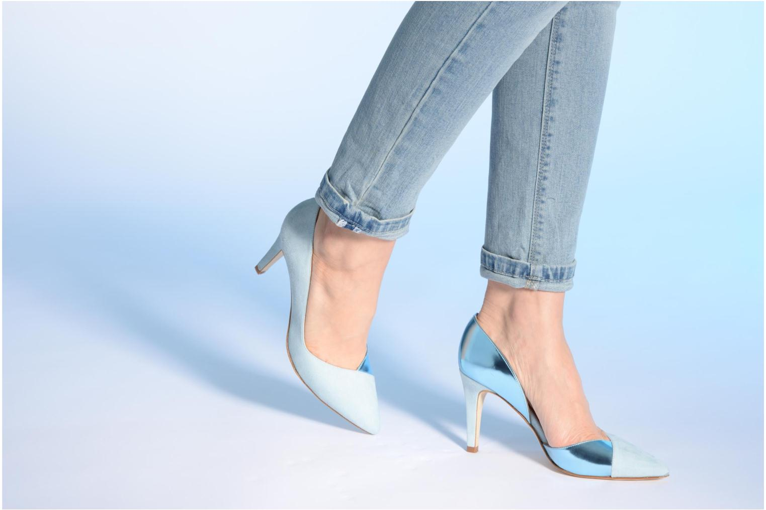 High heels Made by SARENZA Roudoudou #6 Blue view from underneath / model view