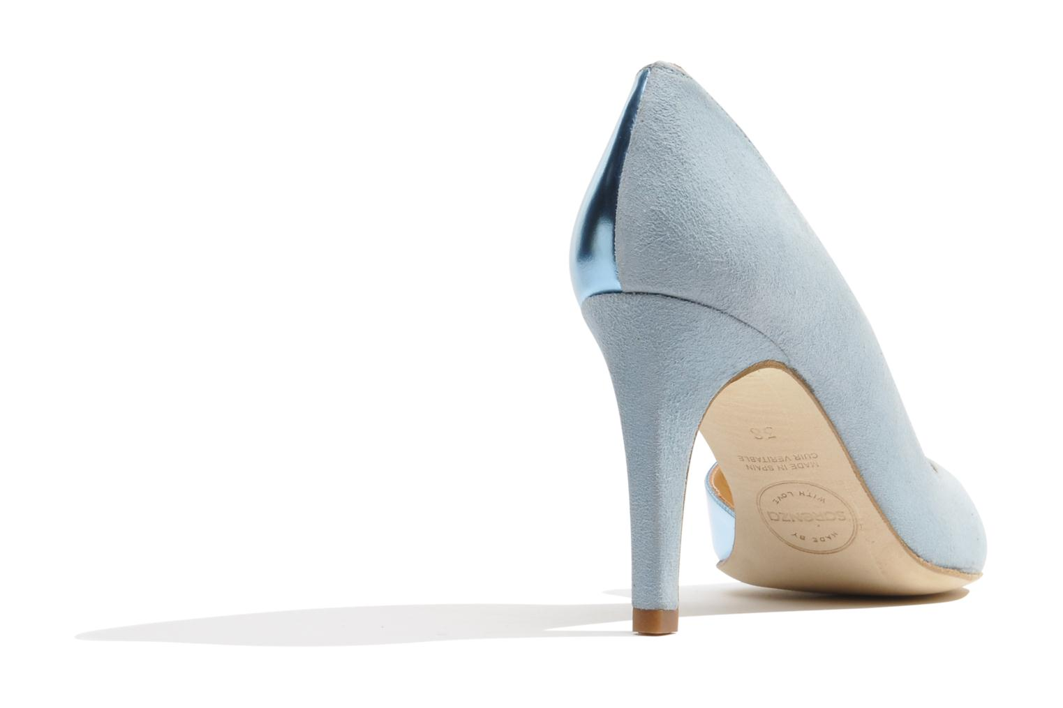 High heels Made by SARENZA Roudoudou #6 Blue front view