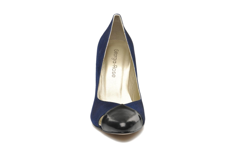 Escarpins Georgia Rose Myosotis Bleu vue portées chaussures