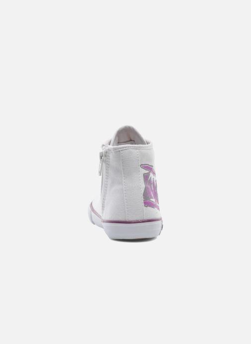 Sneakers Kangaroos KangaVulcT 2053 Wit rechts