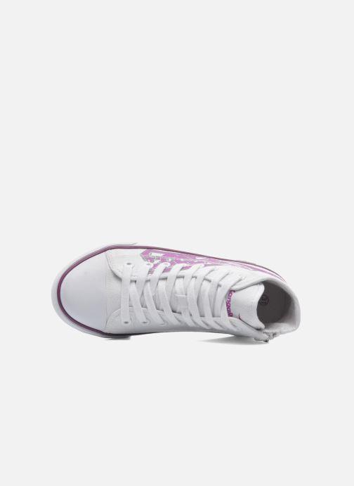 Sneakers Kangaroos KangaVulcT 2053 Wit links
