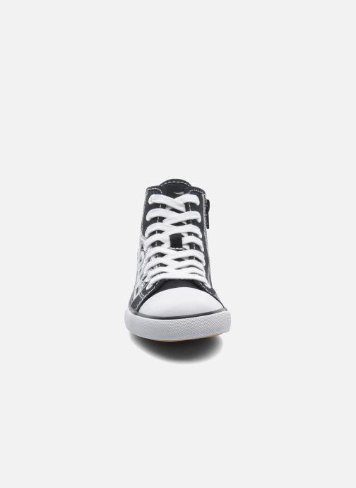 Sneaker Kangaroos KangaVulcT 2053 schwarz schuhe getragen