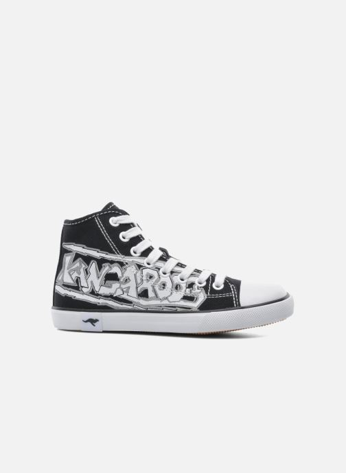 Sneaker Kangaroos KangaVulcT 2053 schwarz ansicht von hinten
