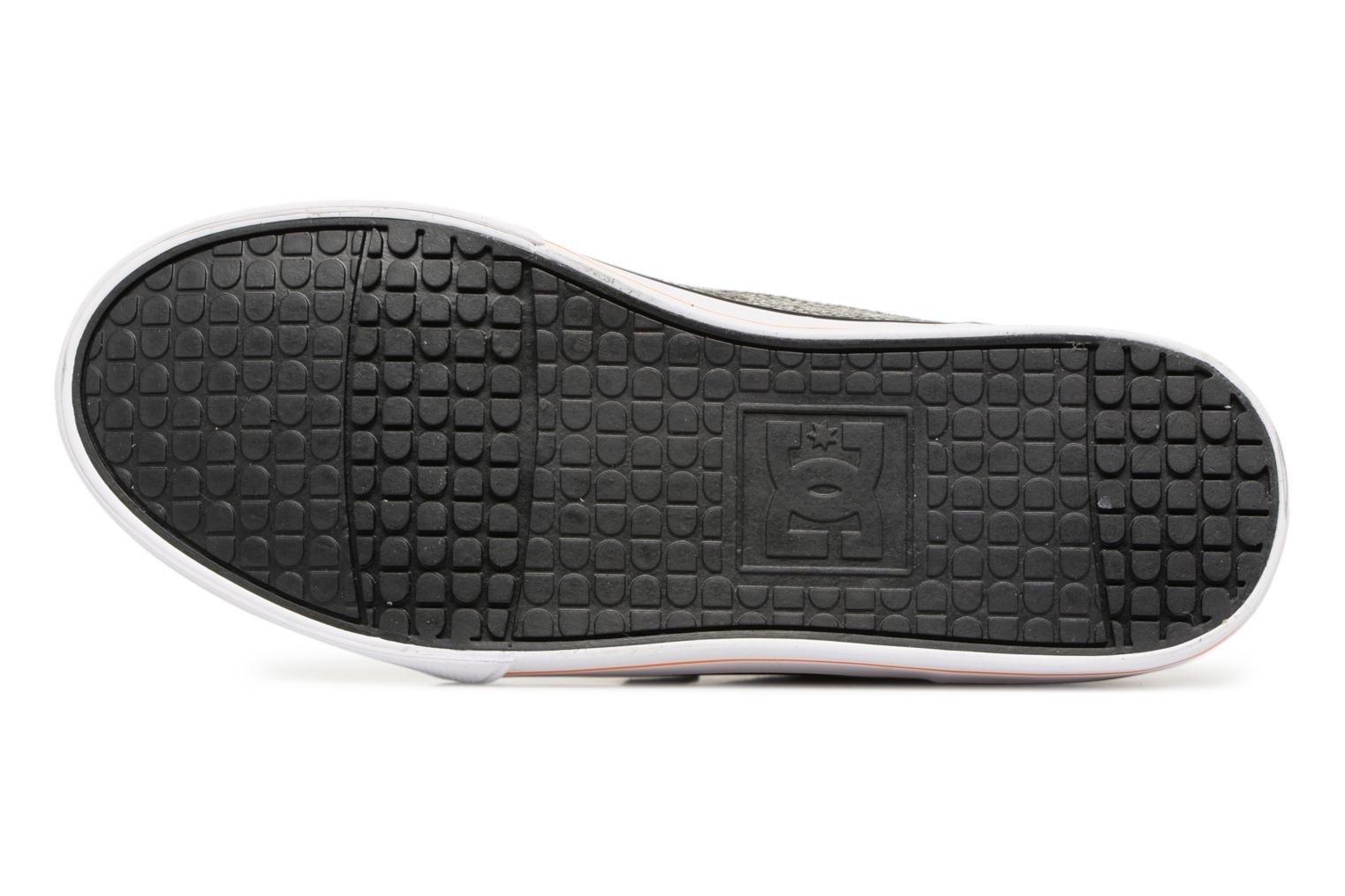 Baskets DC Shoes TONIK SE Gris vue haut
