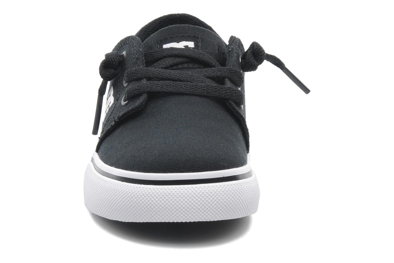 Baskets DC Shoes TRASE TX Toddler Noir vue portées chaussures