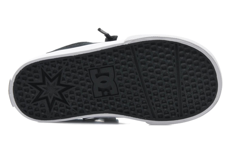 Baskets DC Shoes TRASE TX Toddler Noir vue haut