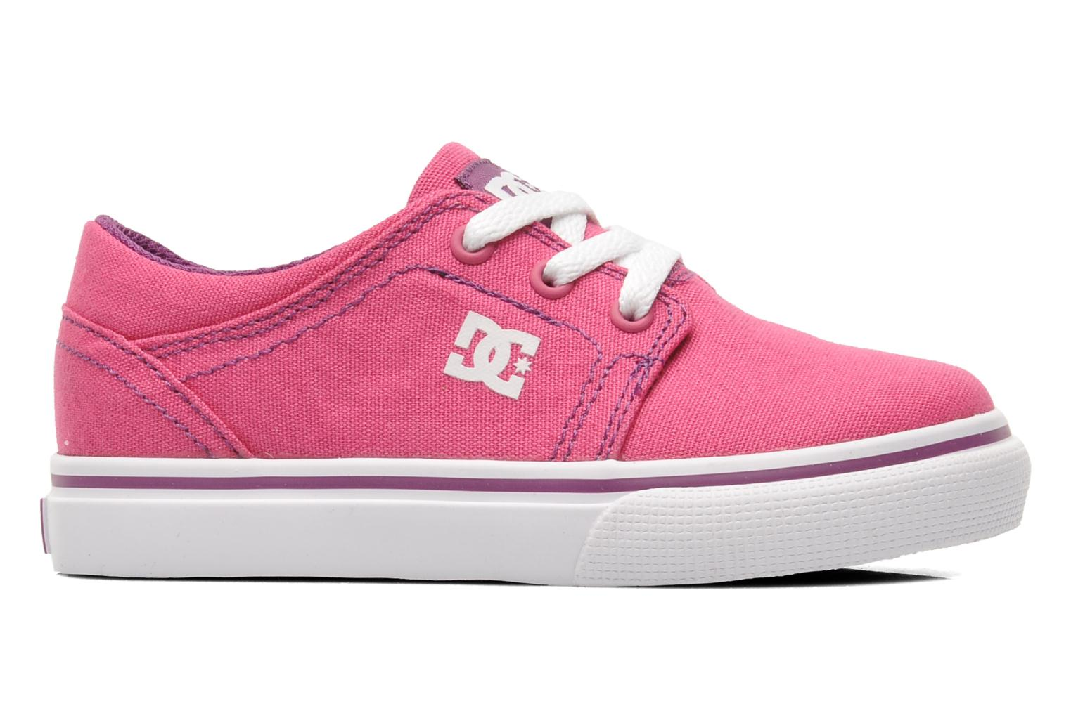 Baskets DC Shoes TRASE TX Toddler Rose vue derrière