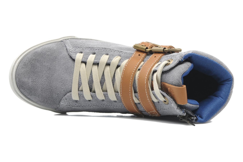 Baskets Timberland Earthkeepers Glastenbury Sneaker Hi Top Gris vue gauche