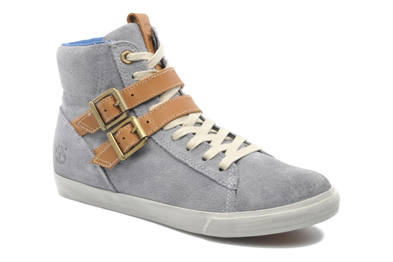 Baskets Timberland Earthkeepers Glastenbury Sneaker Hi Top Gris vue détail/paire