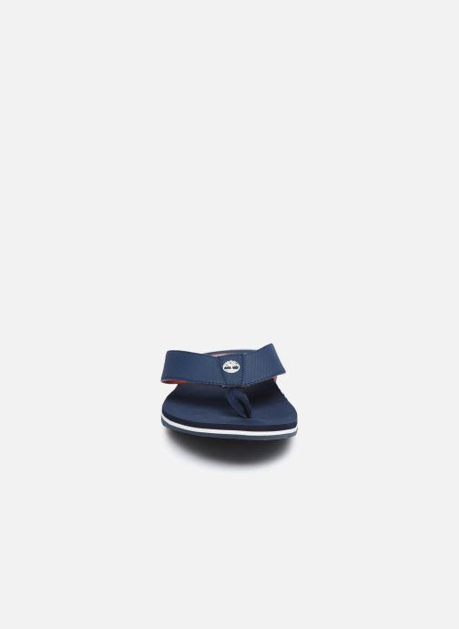 Infradito Timberland Wild Dunes Flip-Flop Azzurro modello indossato