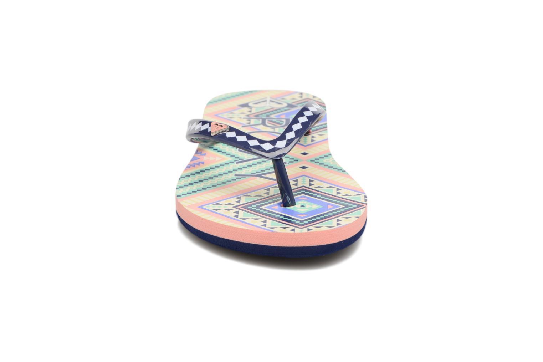 Zehensandalen Roxy Rg Pebbles V mehrfarbig schuhe getragen