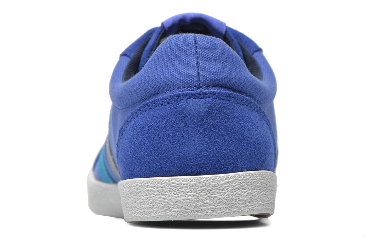 Trainers Hummel Deuce Court Summer Blue view from the right