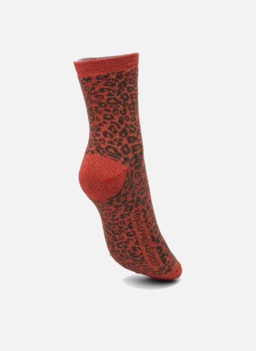 Socken & Strumpfhosen My Lovely Socks Rose rot ansicht von links