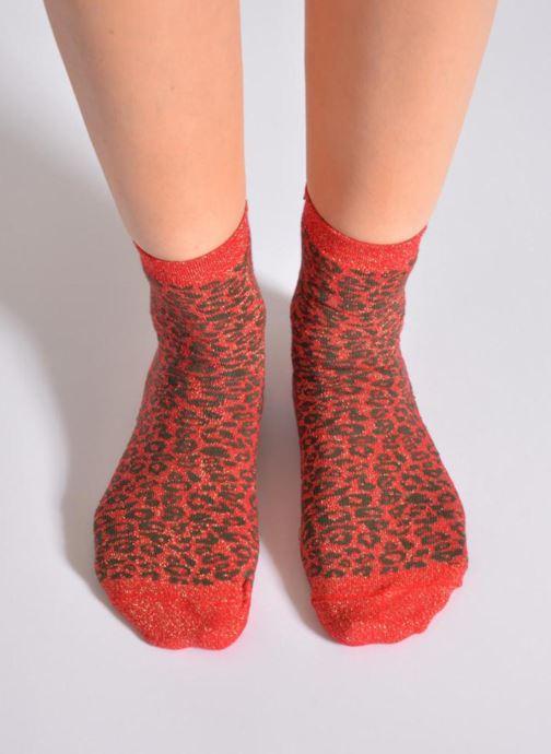 Socken & Strumpfhosen My Lovely Socks Rose rot ansicht von oben