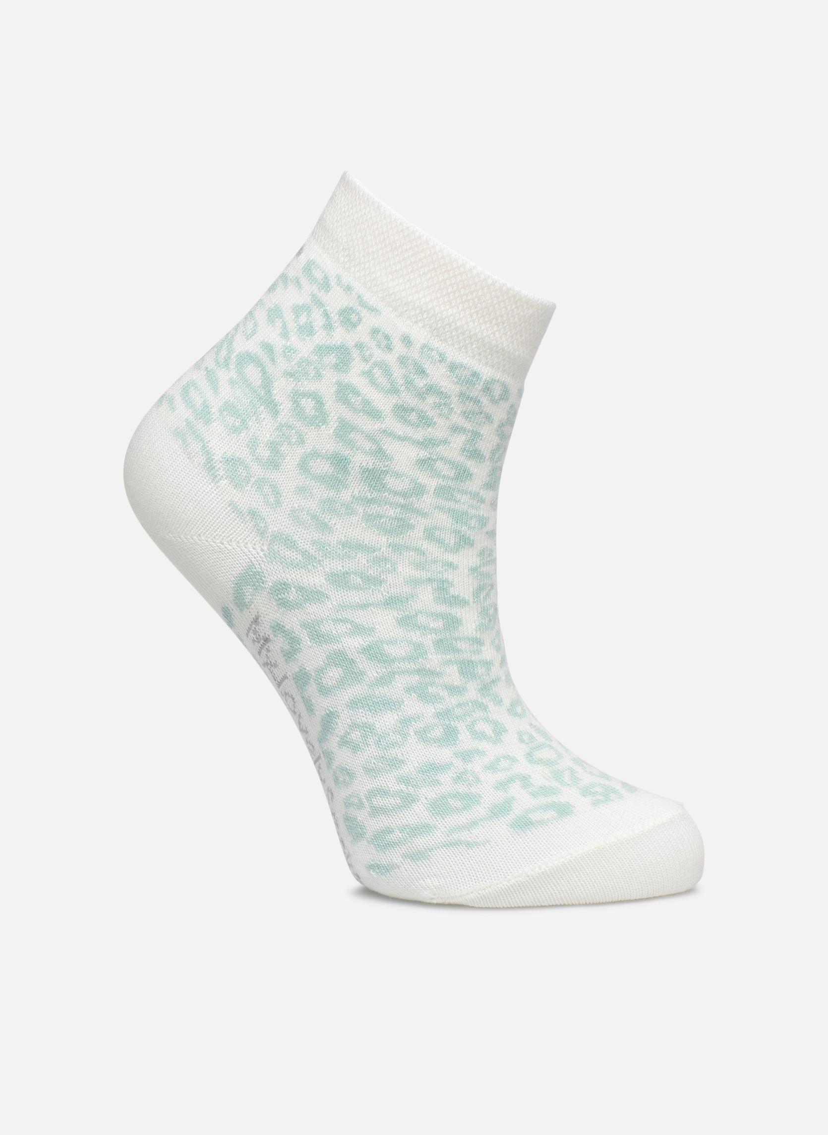 Chaussettes et collants My Lovely Socks rose Blanc vue détail/paire