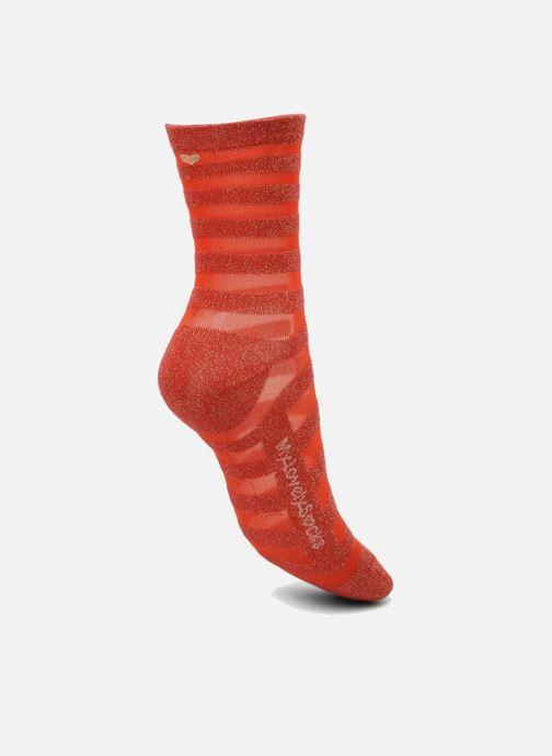 Socken & Strumpfhosen My Lovely Socks Faustine rot ansicht von links