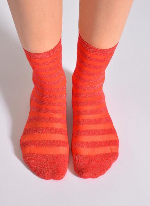 Socken & Strumpfhosen My Lovely Socks Faustine rot ansicht von oben